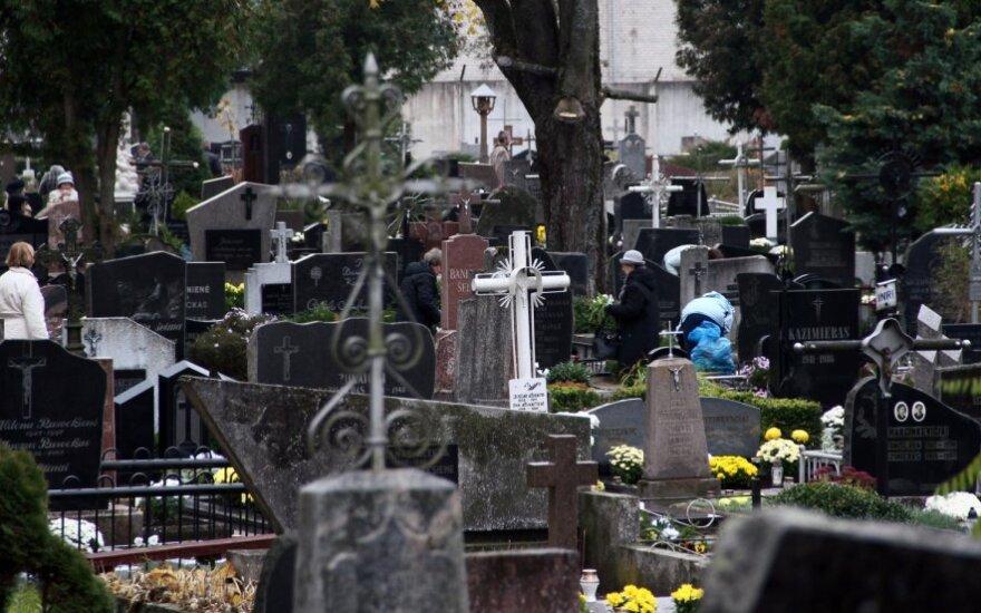 Vilnius turistus vilios kapais
