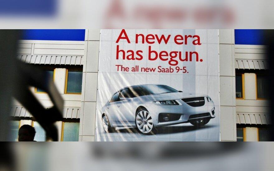 """""""Saab"""" prašymas apsisaugoti nuo kreditorių – atmestas"""