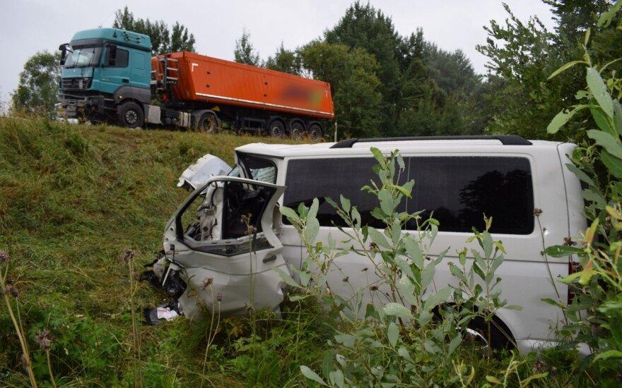 Avarija Alytaus rajone: nukentėjo du žmonės