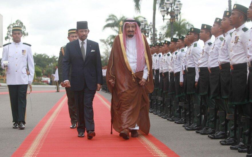 Saudo Arabijos karaliaus vizitas Japonijoje