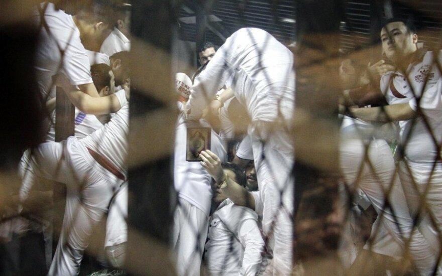 Egipto teismas skyrė mirties bausmę 11 kruvinų futbolo riaušių kurstytojų