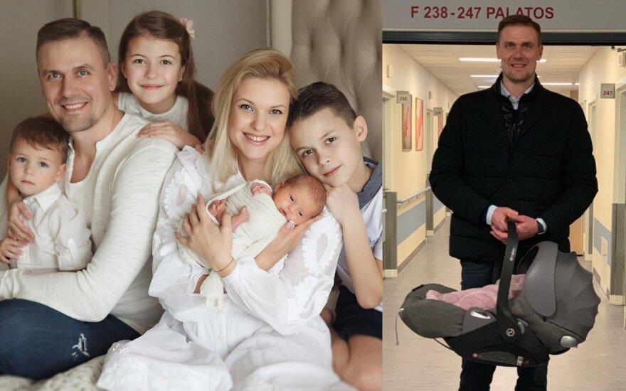 Robertas Javtokas su šeima
