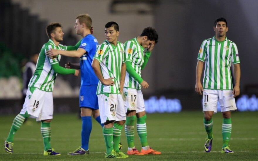 """""""Real Betis"""" futbolininkai"""
