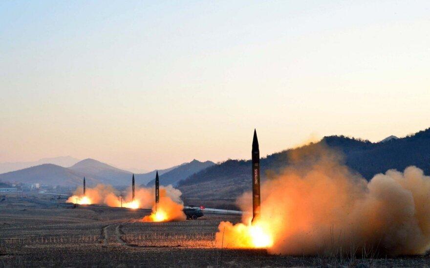 Šiaurės Korėja grasina JAV