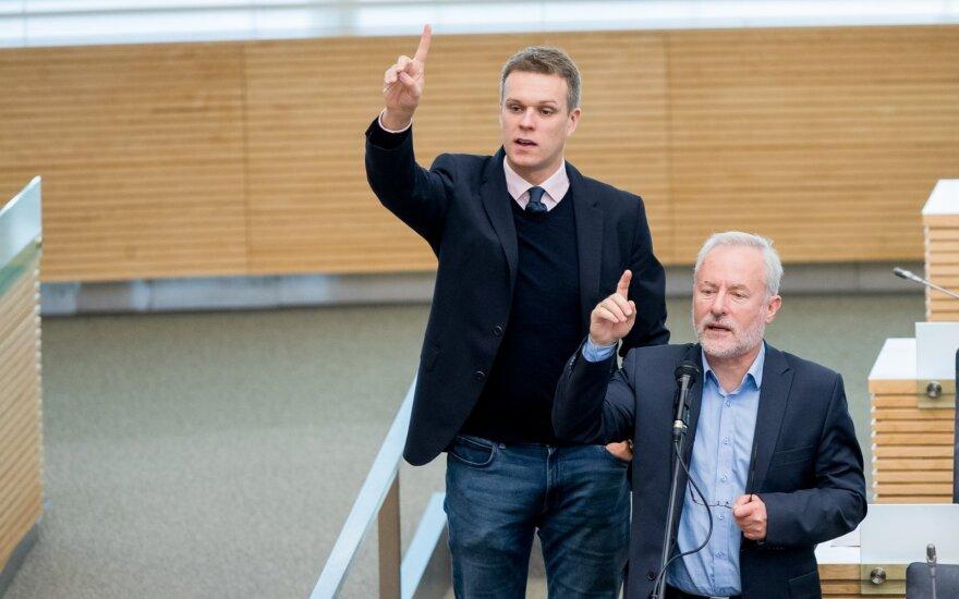Landsbergis: darosi sunku susekti dramą Seime