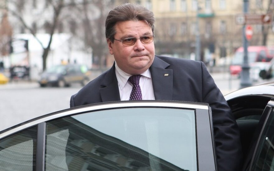Minister Linkevičius: Lithuania appreciates US leadership in coordinating Russia sanctions