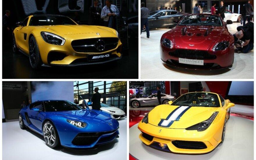 Superautomobiliai Paryžiaus automobilių parodoje