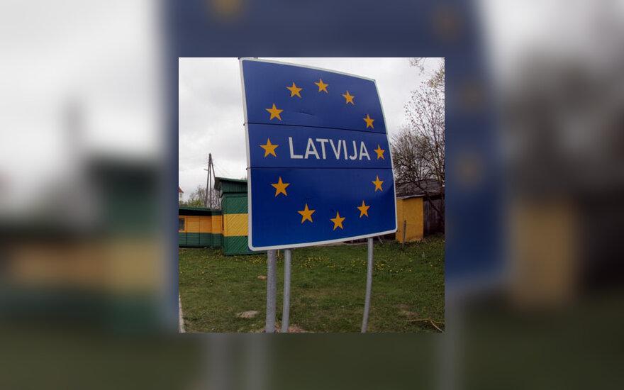 Latvija, pasienis, siena