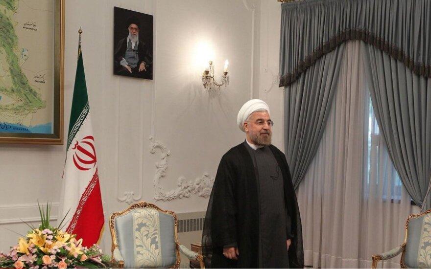 Irano prezidentas Hassanas Rowhani