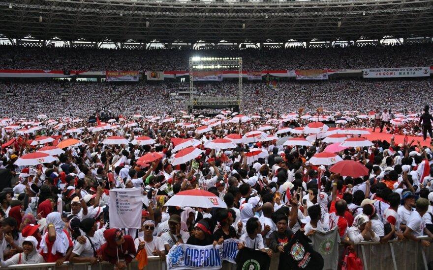 """Indonezijos rinkimuose dalyvauja """"Michailas Gorbačiovas"""""""