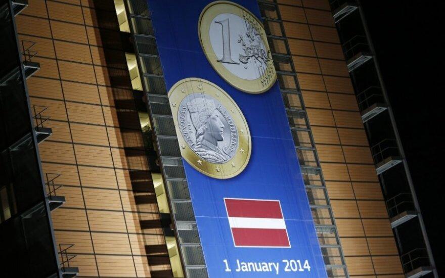 Latvija, euras