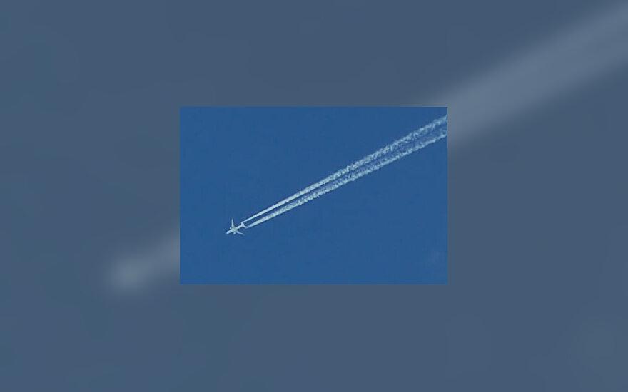 Skrenda lėktuvas