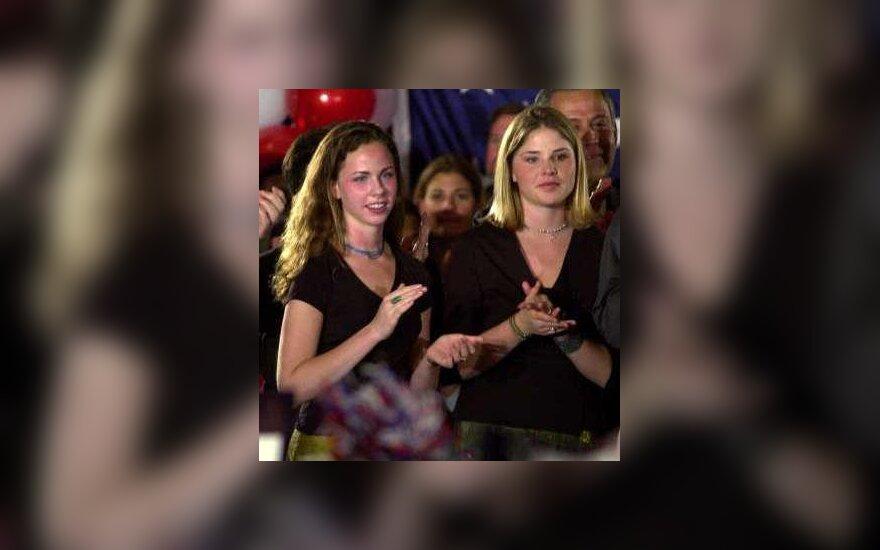 Jenna ir Barbara Bush