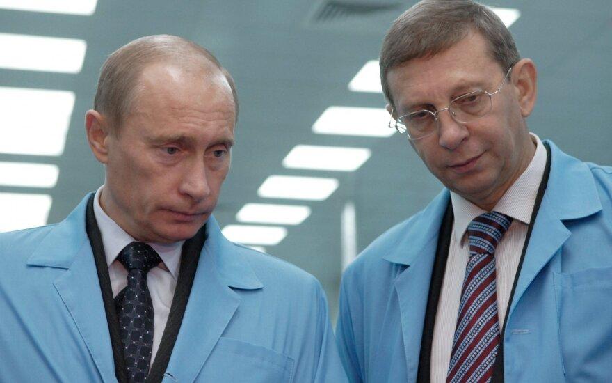 Vladimiras Putinas ir Vladimiras Jevtušenkovas