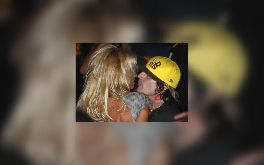 Pamela Anderson ir Tommy Lee