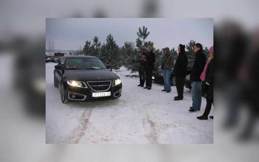 """""""AutoVikingai"""": naujasis """"Saab 9-5"""""""