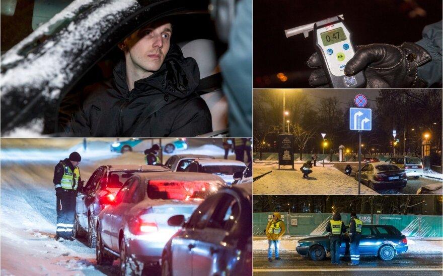 Naktinis reidas Vilniuje: vieni įkliuvo per žioplumą, kiti dėl per didelės drąsos