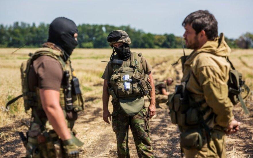 """Ukraina: separatistai mėgina taikyti """"išdegintos žemės"""" taktiką"""
