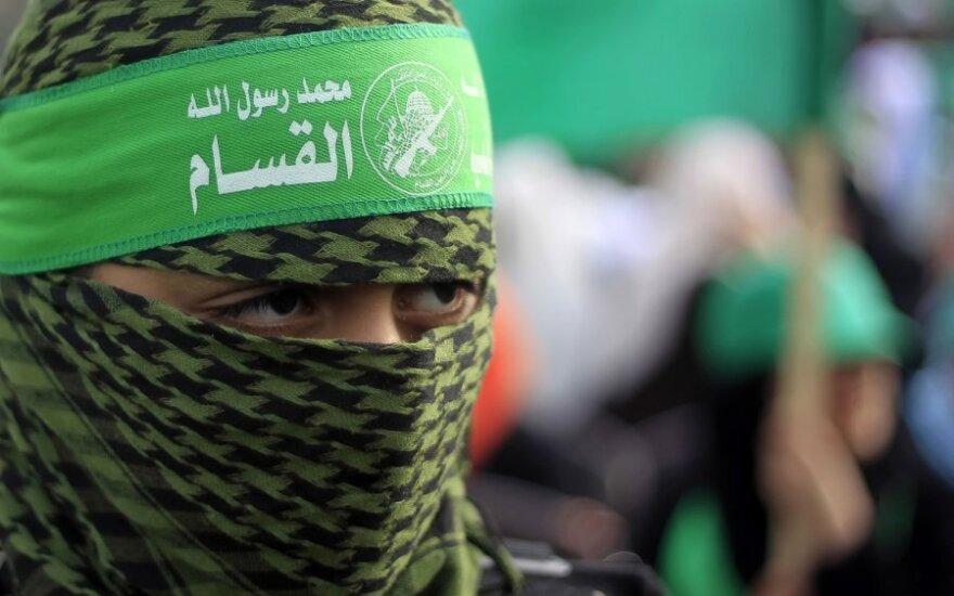 Hamas: palestiniečiai pasiryžę sugriauti sienas ir išsikovoti teisę grįžti