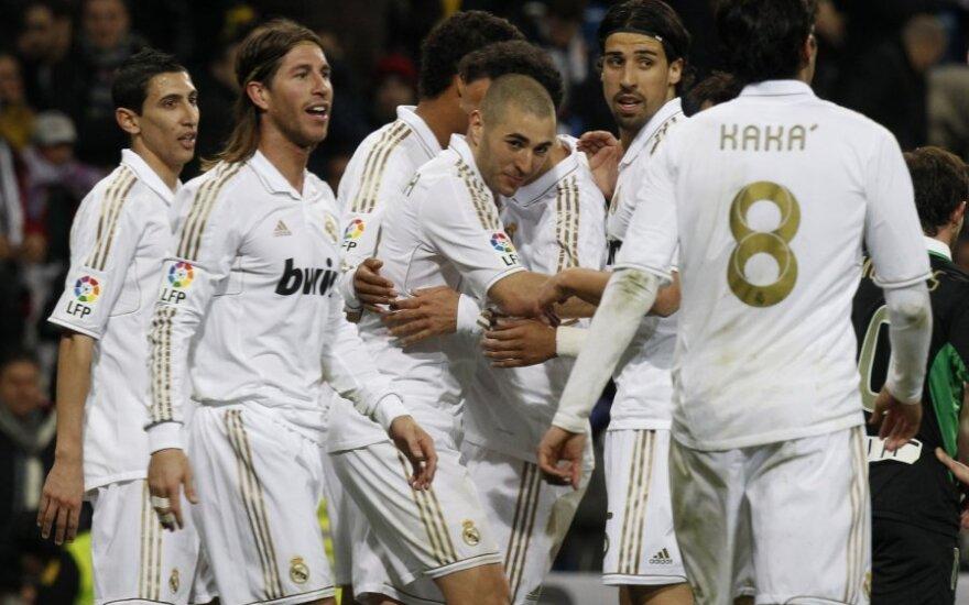 """Madrido """"Real"""" klubas - turtingiausias pasaulyje"""
