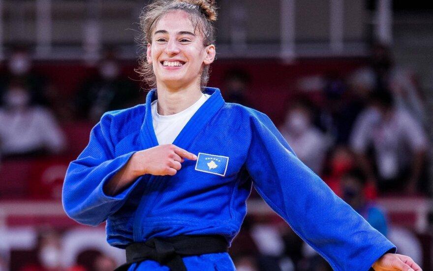 Olimpinė čempionė Nora Gjakova