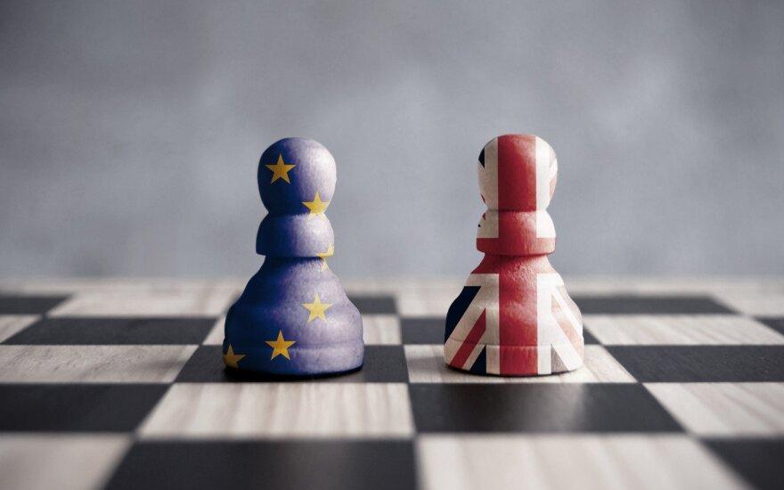 """Vokietijos verslo atstovai įspėja dėl """"Brexito"""" padarinių"""