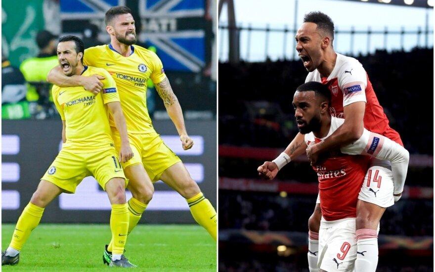 "Londono ""Chelsea"", Londono ""Arsenal"""