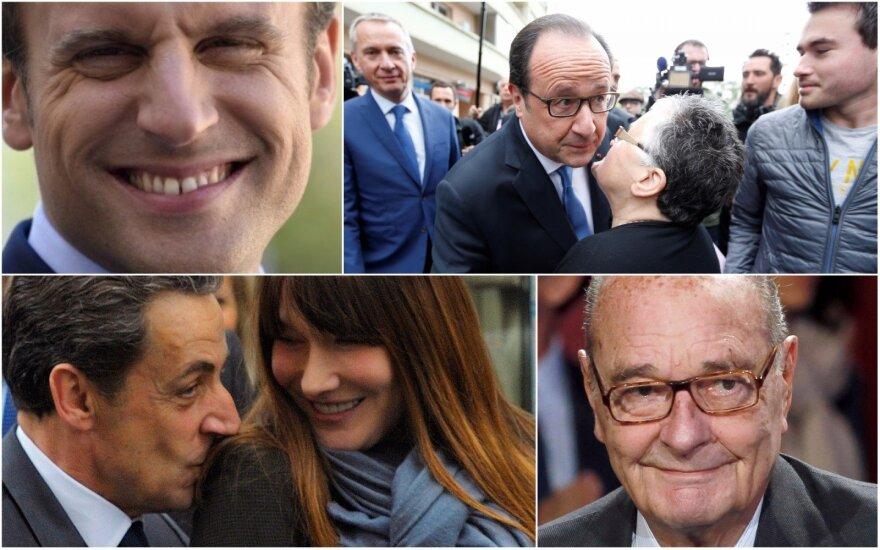 Prancūzų aistras kaitina skandalingi prezidentų romanai: netrukdo nei politinis, nei šeimyninis statusas
