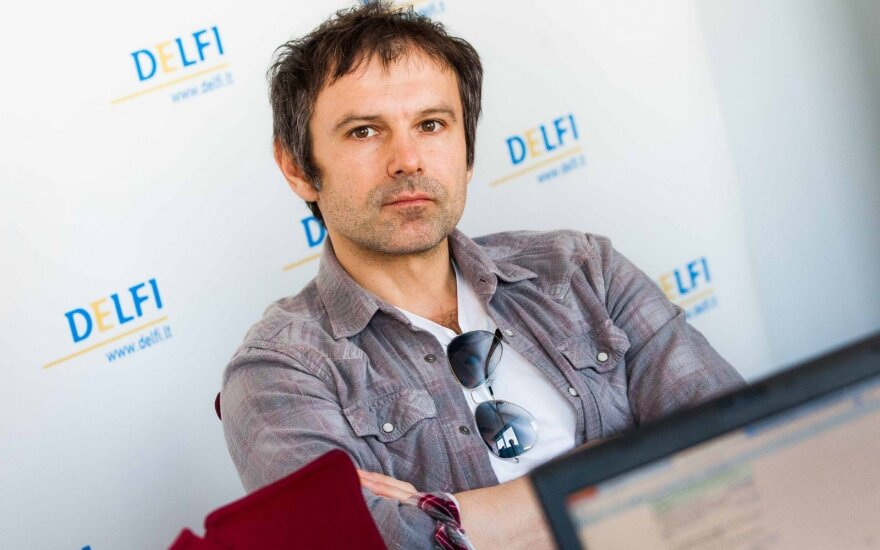 Populiarus ukrainiečių muzikantas Vakarčiukas kuria partiją, dalyvaus rinkimuose