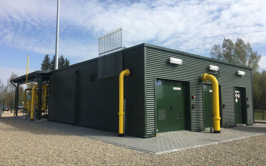 Modernizuota dujų skirstymo stotis