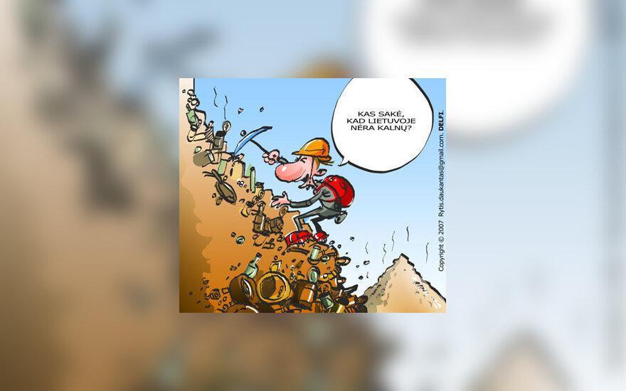 Sąvartynas - karikatūra