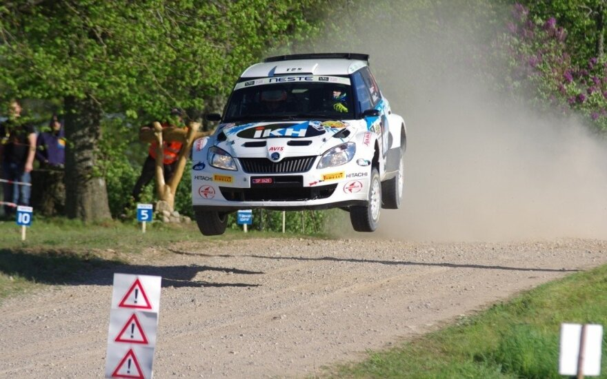 Rally Talsi 2016 (D. Kibirkščio nuotr.)