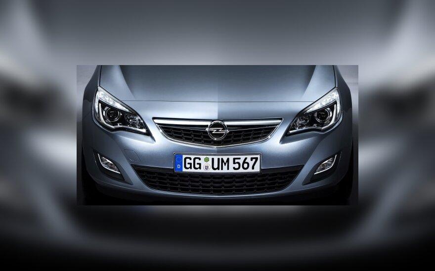 """""""Opel"""" pristatė penkmečio planą"""