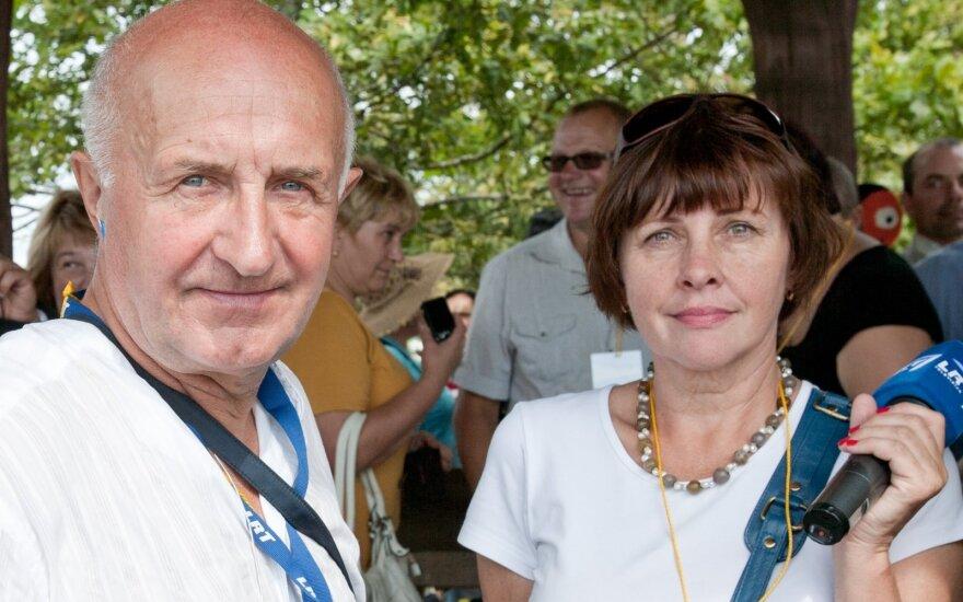 Skirmantas Pabedinskas ir Zina Paškevičienė
