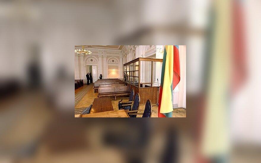 Vilniaus apygardos teismo salė