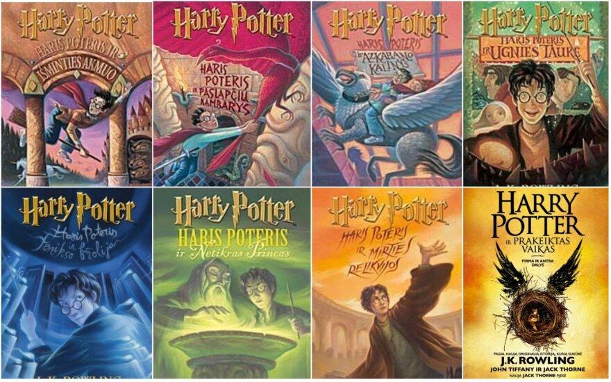 Senosios Hario Poterio knygos brangsta kaip burtų lazdele pamojus: kolekcionieriai moka iki penkių kartų brangiau