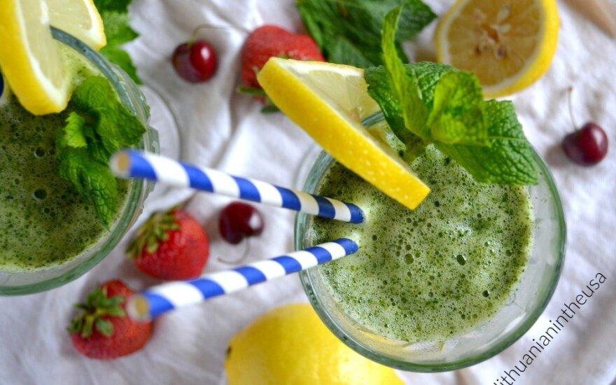 <em>Limonana</em> – gaivus gėrimas, kuris visai vasarai apsigyvens jūsų šaldytuve