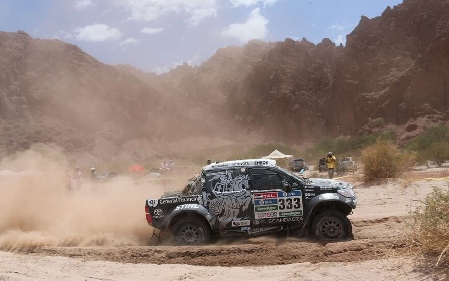 9-as Dakaro ralio etapas