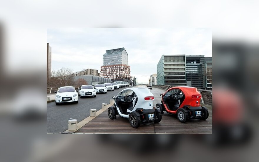 Renault ZE centras