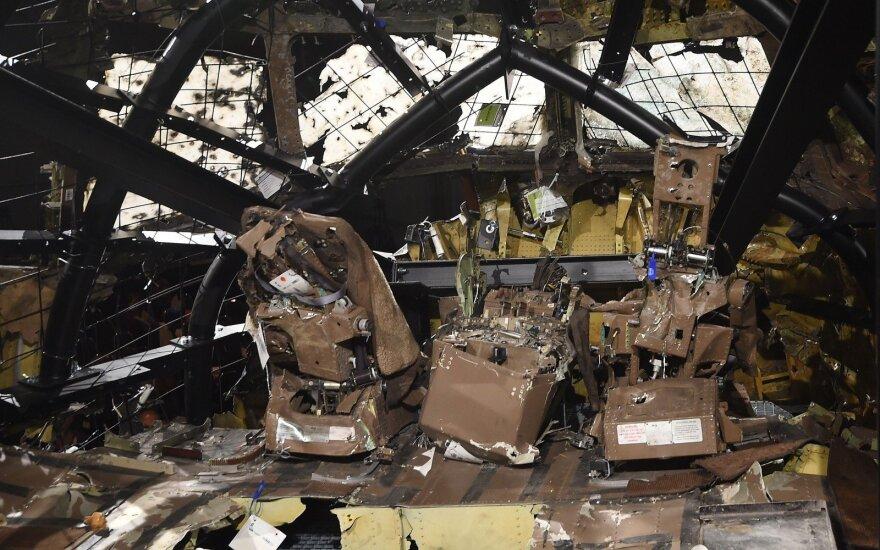 Pompeo paragino Rusiją užtikrinti apkaltintųjų dėl MH17 katastrofos atsakomybę