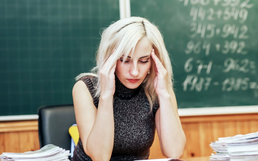 Artėjantis matematikos egzaminas kelia siaubą: mokiniai ketina emigruoti, mokytojai peikia abiturientų sugebėjimus