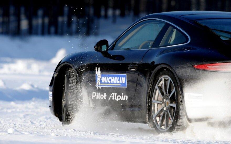 Michelin Pilot Alpin bandymai