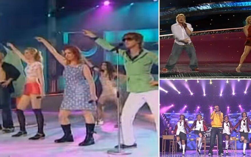 """""""Eurovizijos"""" konkurse per daugelį metų buvo nemažai keistų ir itin prastų pasirodymų"""