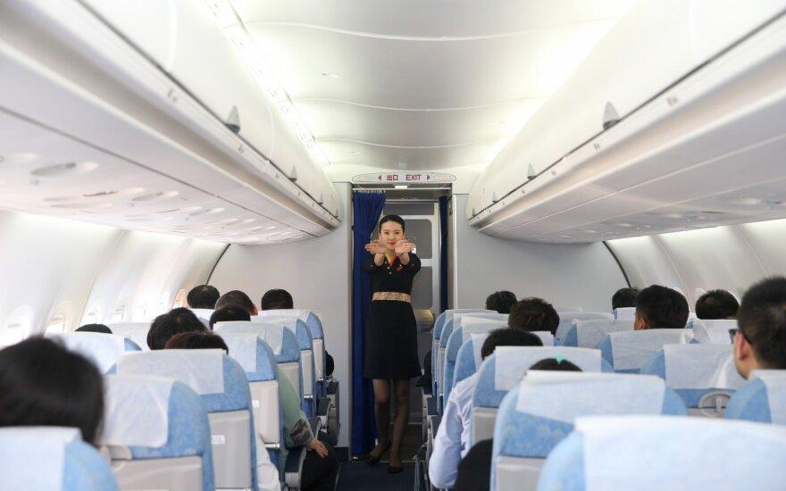 Šiuos dalykus verta žinoti visiems, kuriems tenka skristi lėktuvu