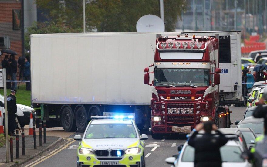 Sunkvežimyje rastos aukos