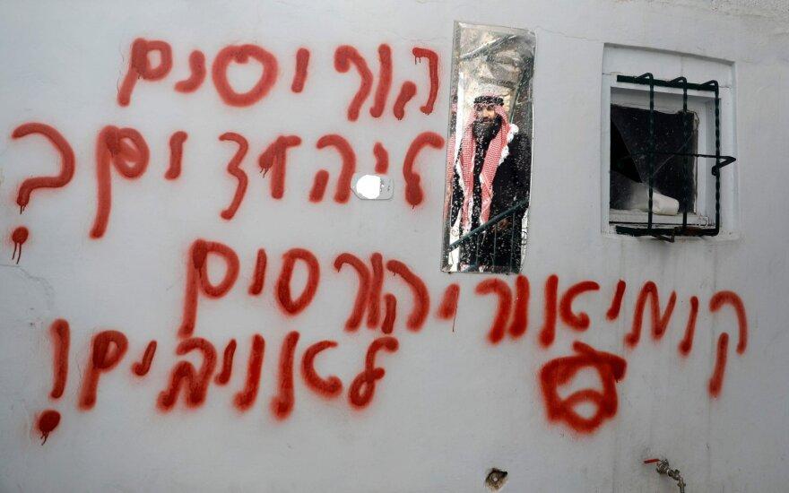 Rytų Jeruzalėje vandalai padegė mečetę