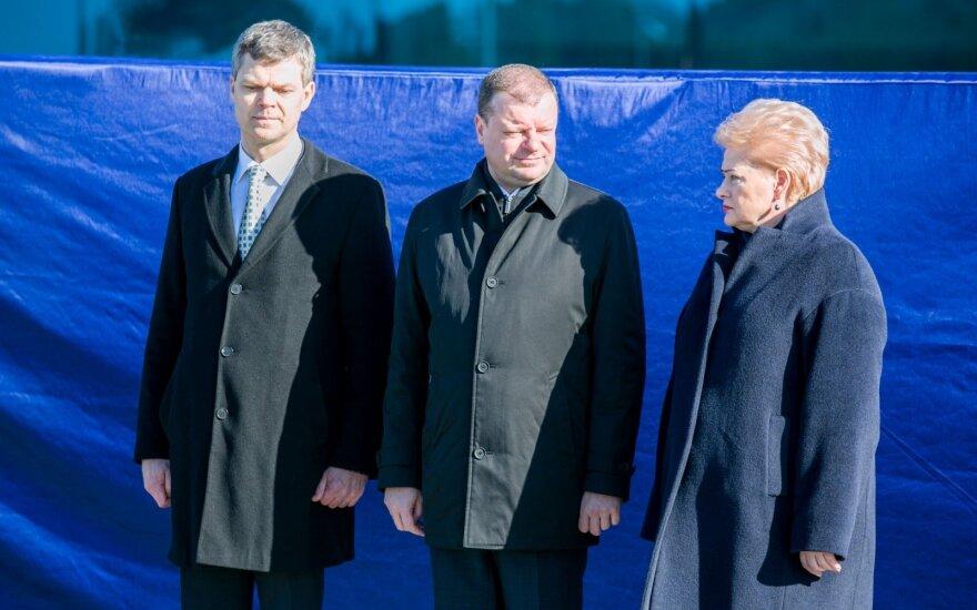 Darius Jauniškis, Saulius Skvernelis, Dalia Grybauskaitė