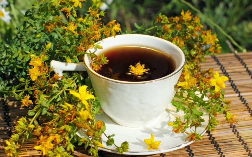 Jonažolių arbata