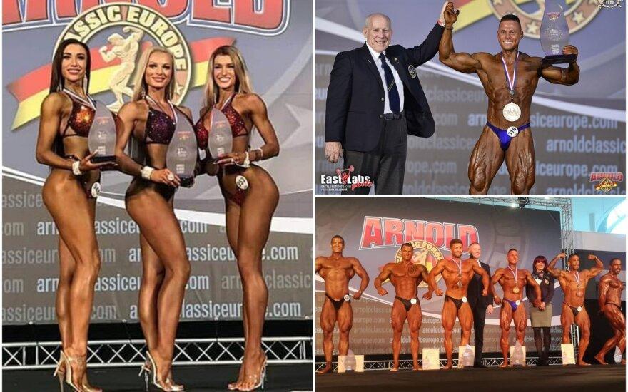 """""""Arnold Classic Europe"""" turnyre lietuviai iškovojo 4 medalius / FOTO: IFBB.lt"""