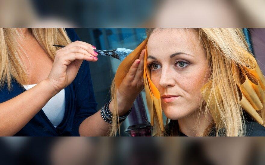 Kirpyklose ir grožio salonuose rasta pažeidimų